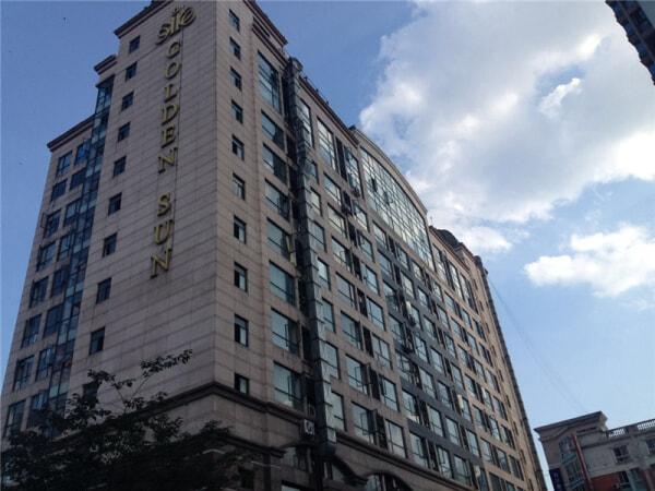 广州高盛大厦模特