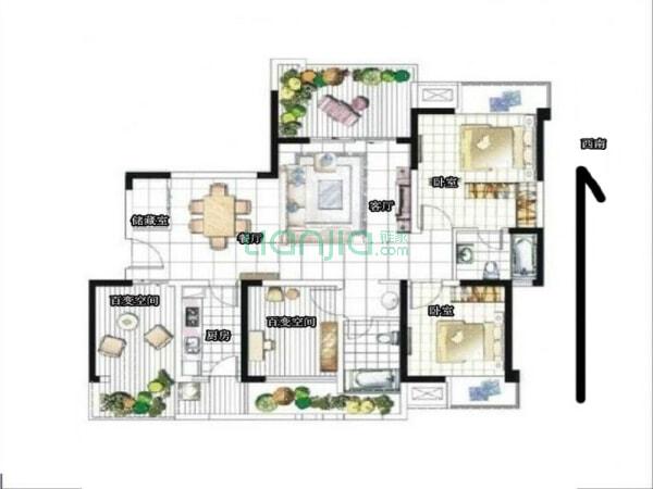 中信未来城北区 4室2厅